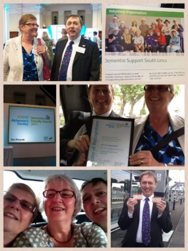Dementia Friends Awards Trip to London