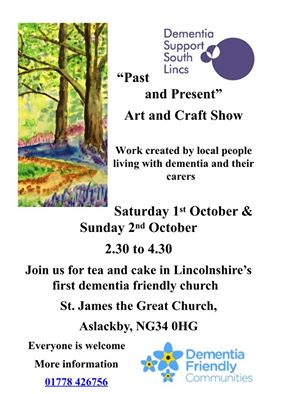 Past Present Art And Craft Show Dementia Support South Lincs