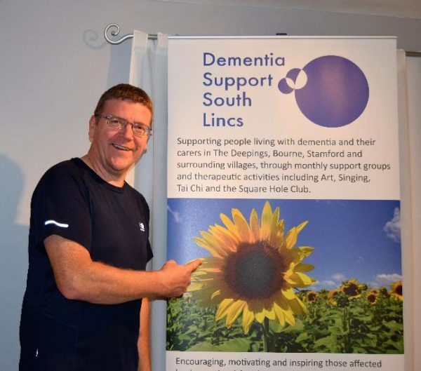 Paul Crawley is Running for Dementia Support South Lincs