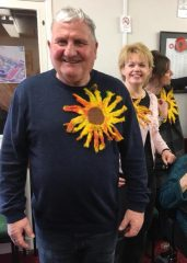 Dementia Support South Lincs Sunflower Challenge 2018