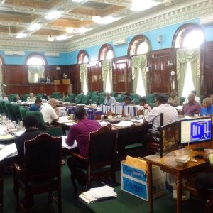 The Public Accounts Committee of the National Assembly in session on Monday, January 25, 2016.