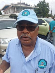 Director General of Guyana's Civil Defence Commission, Retired Colonel Chabillall Ramsarup.