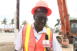 Works Services Group Coordinator, Geoffrey Vaughn