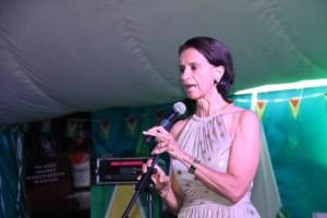 President of St. Maarten's Parliament, Sarah Wescot-Williams.