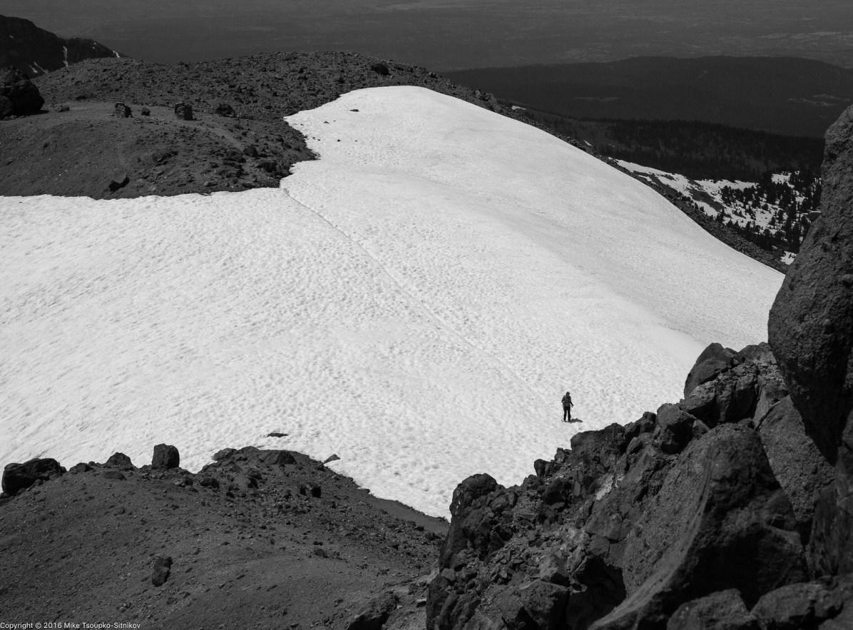 Lassen Peak: almost there