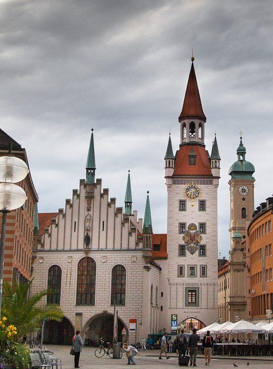 Munich. Marienplatz. The Old City Hall