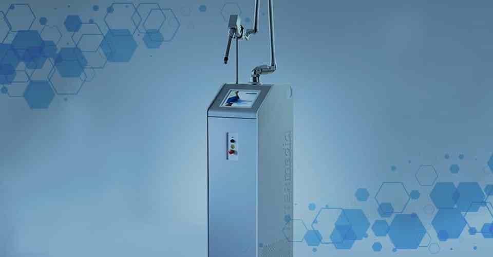 DEMESA | Gynelase Cómo funciona la tecnología del láser CO2 fraccionado