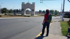 Intrarea în orașul Tighina, marcată prin Arca Păcii