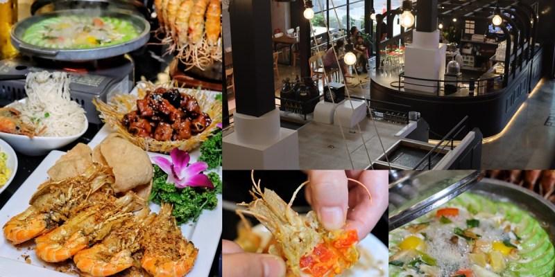 【台中食記】大船入港主題餐廳『鴻龍宴』現撈活體泰國蝦新鮮美味,精緻中菜料理高貴不貴。