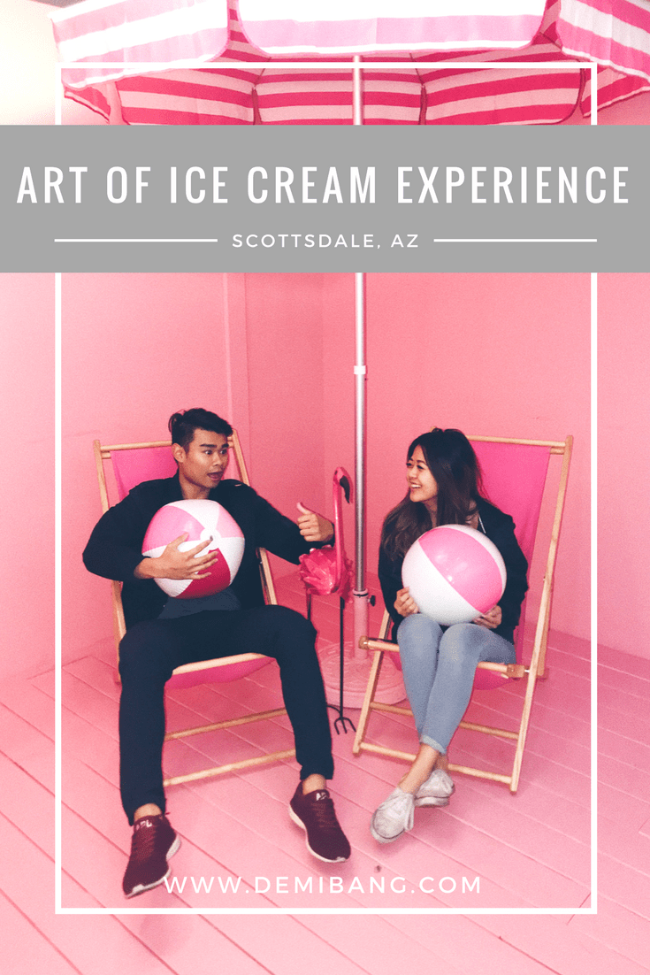 Art of Ice Cream Experience - Ice Cream Museum - Scottsdale Arizona - Demi Bang
