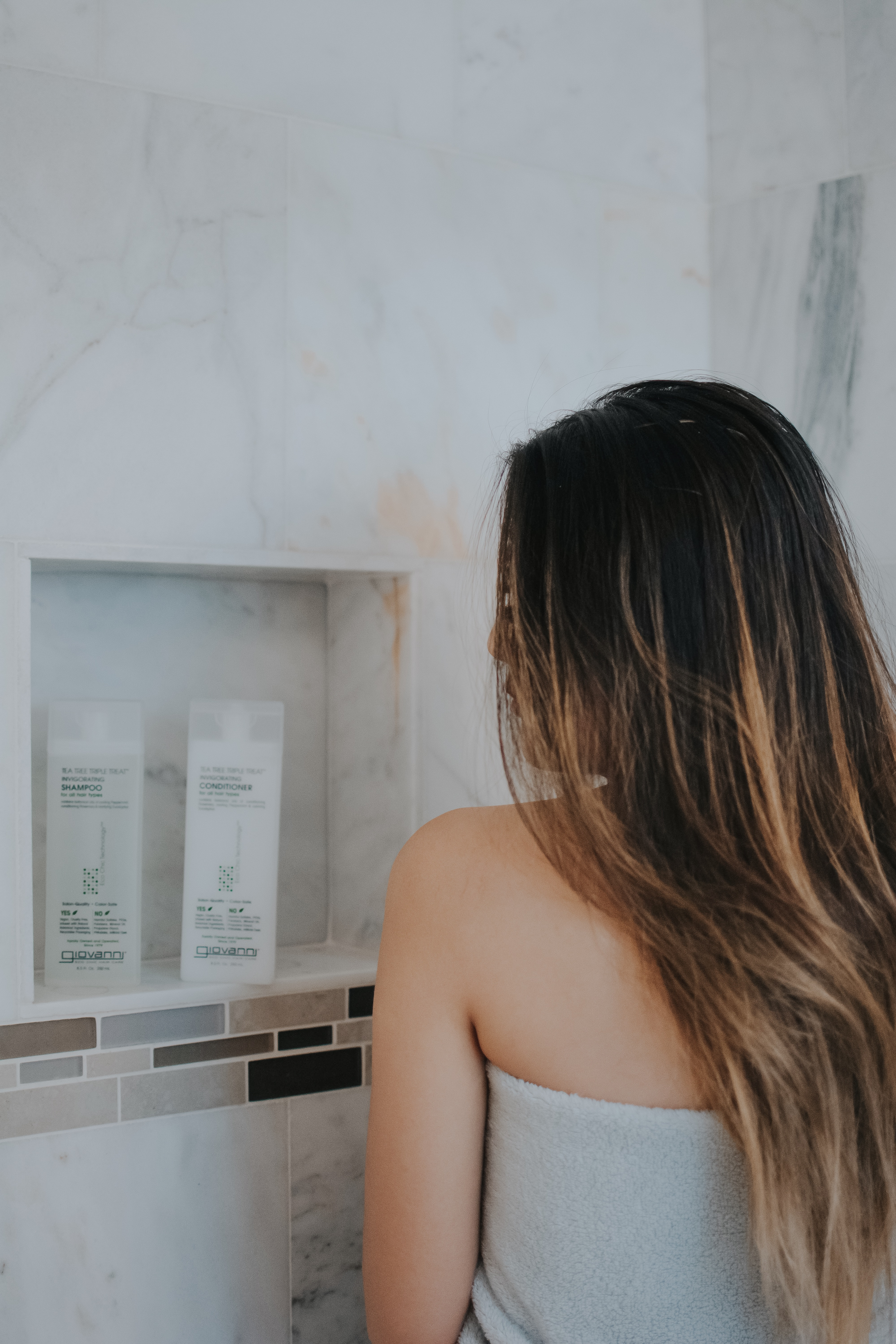 Demi Bang talks about Giovanni Eco Chic Hair Care.