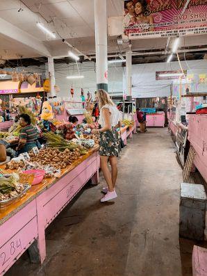 Indoor Foodmarket Paramaribo