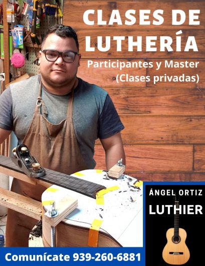 Luthier Angel Ortiz Promo Clases