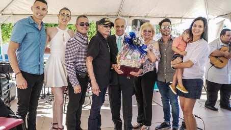 Francisco Mejías y Familia