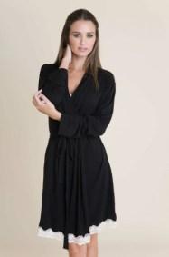 Lady Godiva Classic Robe Black