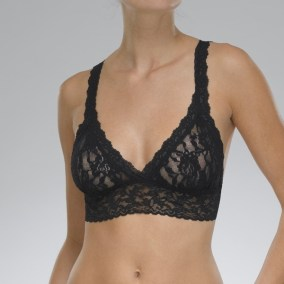 Signature Lace Bralette black
