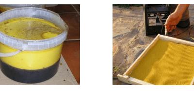 Problemas derivados de la contaminación de la cera