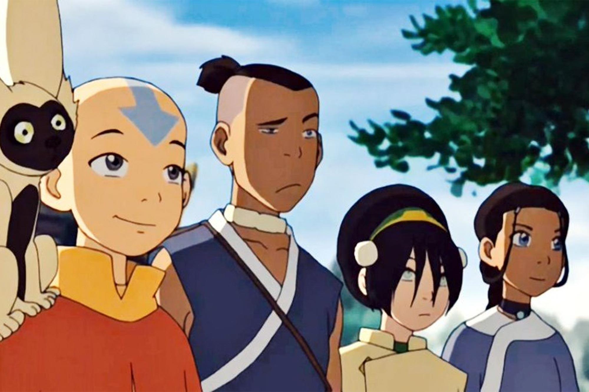 Avatar Aang, Sokka, Toph & Katara