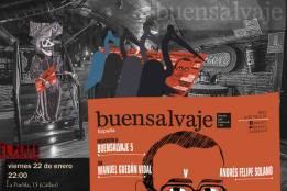 David Villanueva en concierto y presentación de Buensalvaje 5