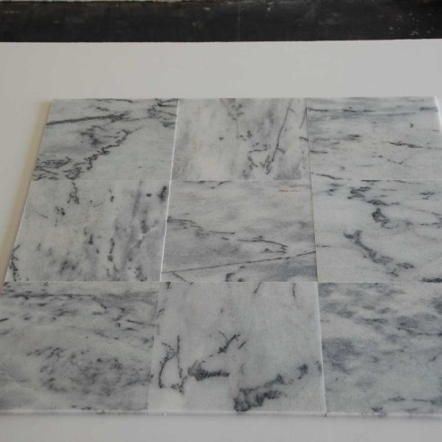 18 X 18 VERDE ARABESCATO MARBLE POLISHED TILES