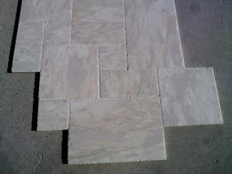 Bianco Leopard French Pattern Brushed and Chisiled 1