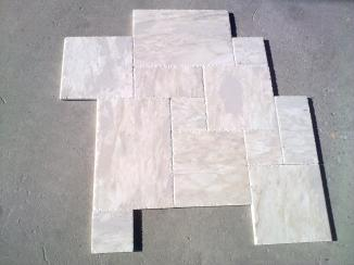 Bianco Leopard French Pattern Brushed and Chisiled 2