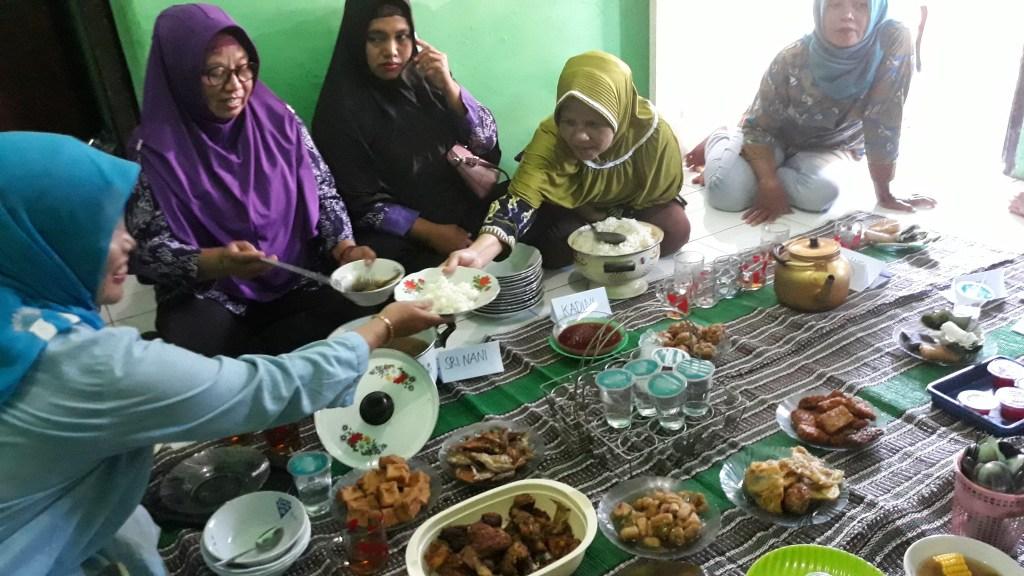 pekerja rumahan, makanan