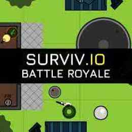 Surviv.Io Unblocked, Surviv.Io - 2D Battle Royal Gameplay