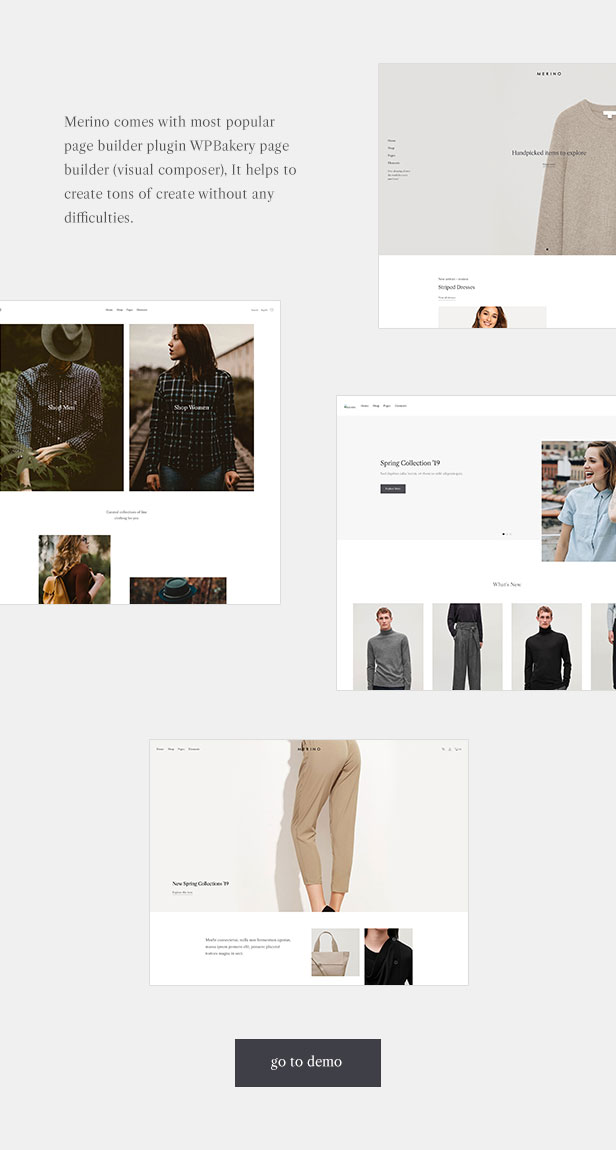 Merino | Theme of the modern WooCommerce store for fashion shop - 2