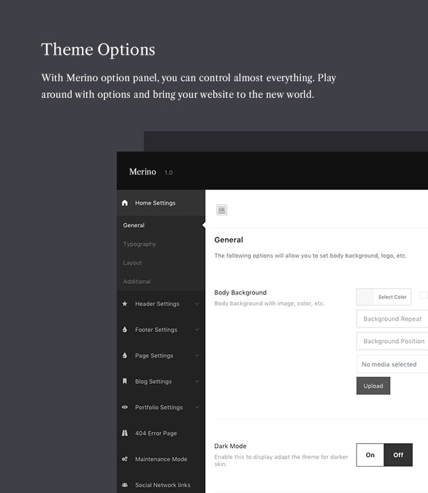 Merino | Theme of the modern WooCommerce store for the fashion store - 7