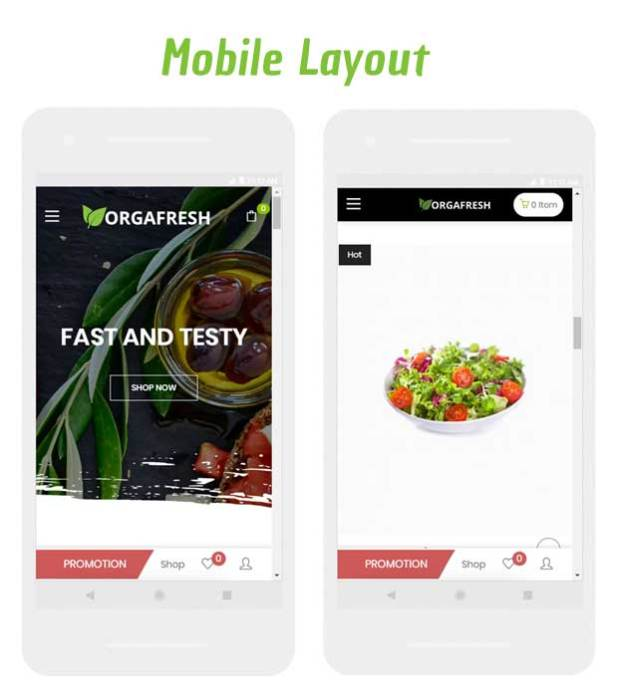 Organic Orgafresh – Organic & Food WooCommerce WordPress Theme - 4
