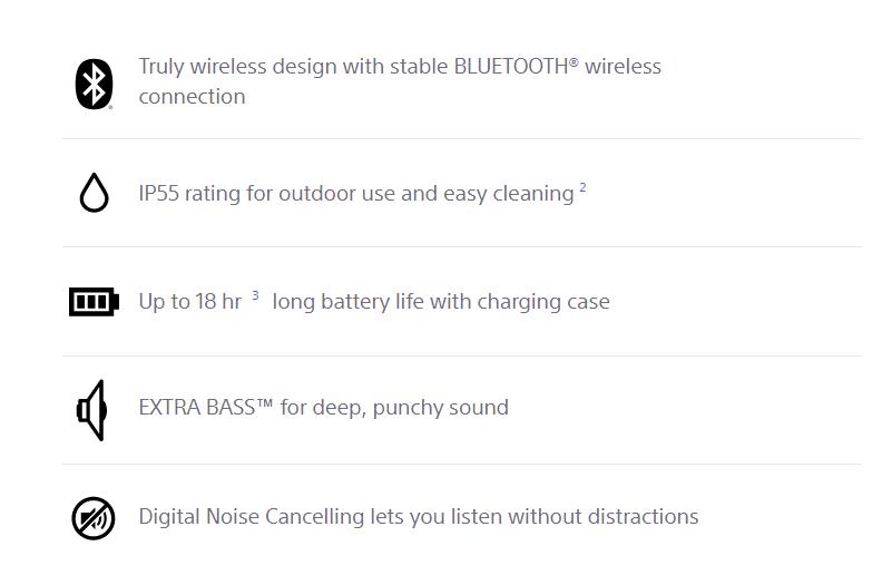 Sony TWS Earbuds