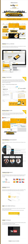 CityCab - Taxi Company & Taxi Firm WordPress Theme - 8