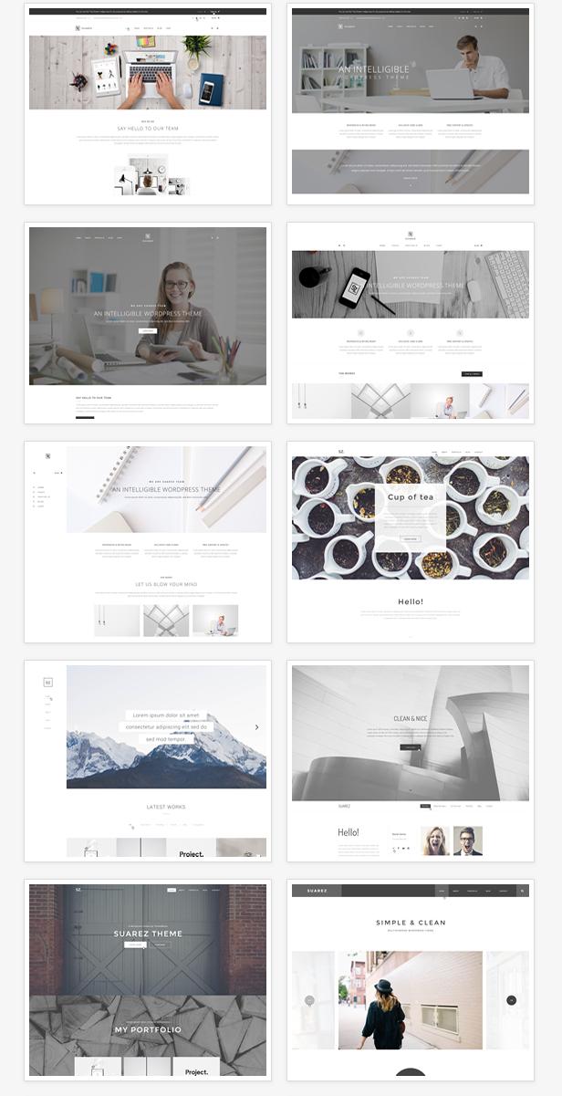 Suarez - Clean, Minimal & Modern Multi-Purpose WordPress Theme - 7