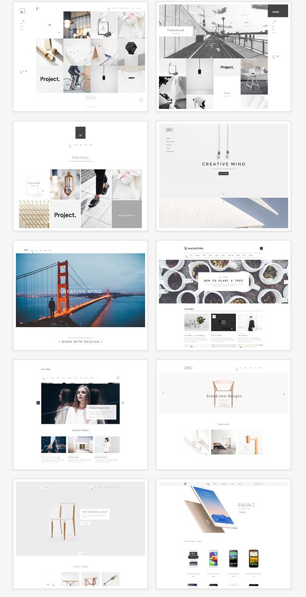 Suarez - Clean, Minimal & Modern Multi-Purpose WordPress Theme - 8