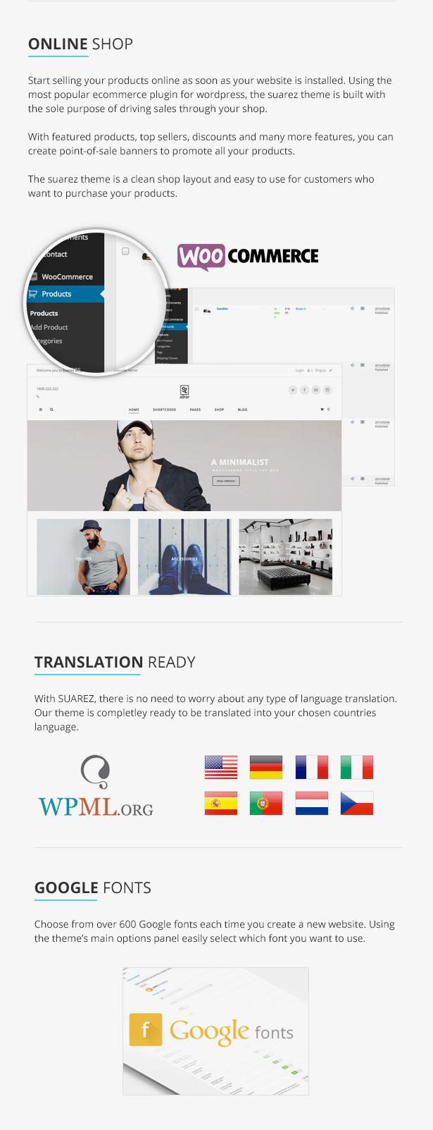 Suarez - Clean, Minimal & Modern Multi-Purpose WordPress Theme - 14
