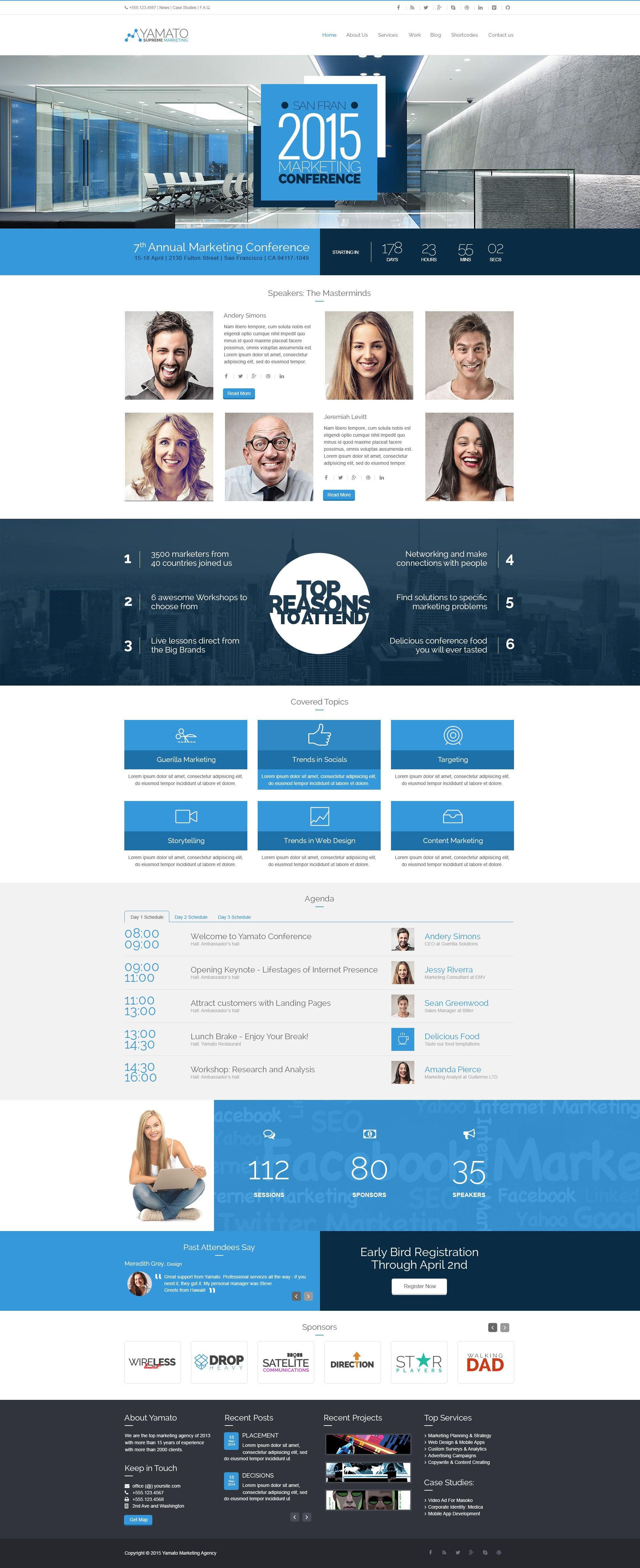 YAMATO - Corporate Marketing WordPress Theme - 8