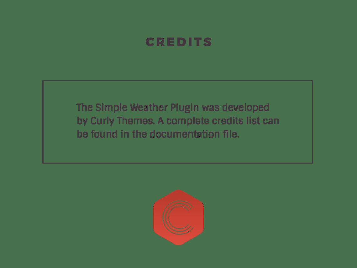 Weather WordPress Shortcode & Widget - Simple Weather Plugin 6