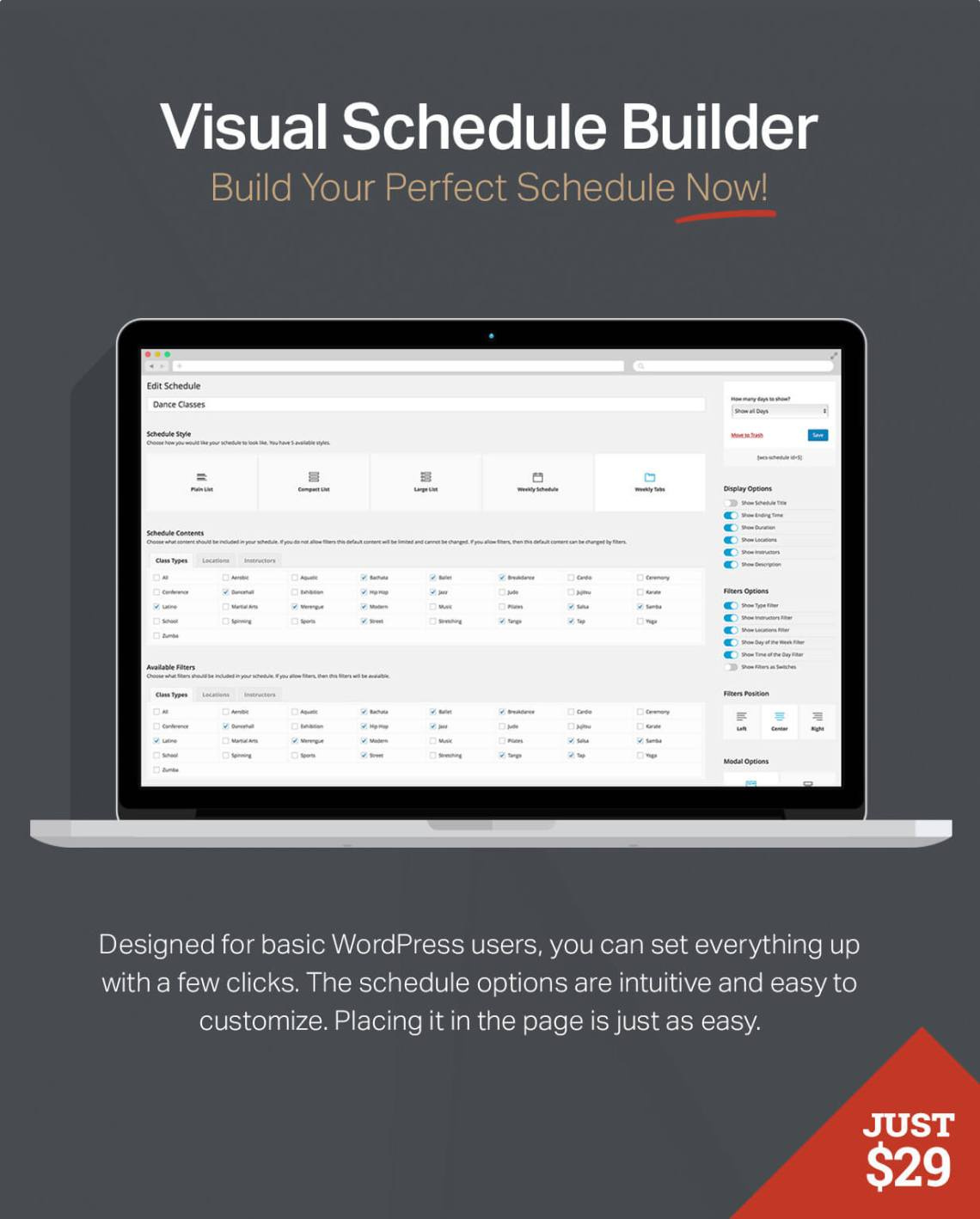 Events Schedule - WordPress Plugin 8