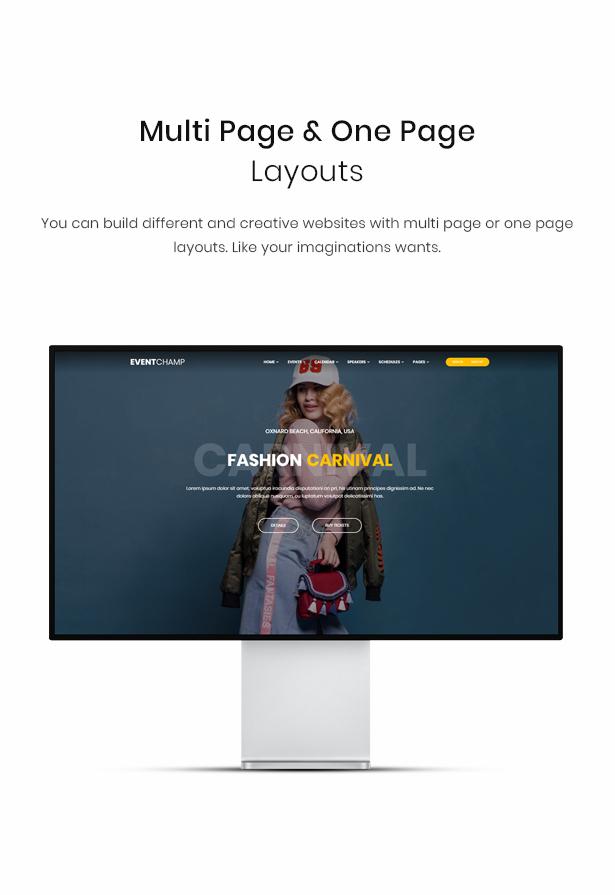 WordPress one page theme
