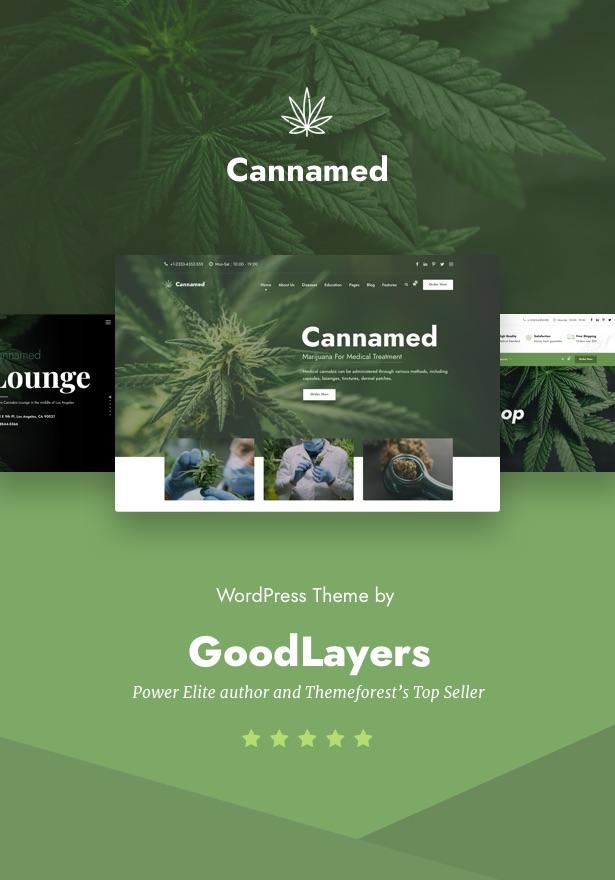Cannamed - Cannabis & Marijuana WordPress - 1