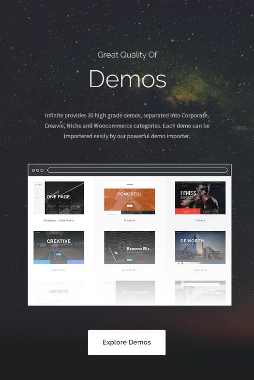 Infinite - Multipurpose WordPress Theme - 9