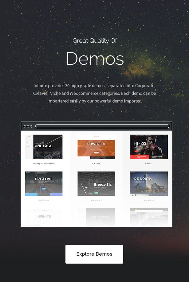Infinite - Multipurpose WordPress Theme - 13