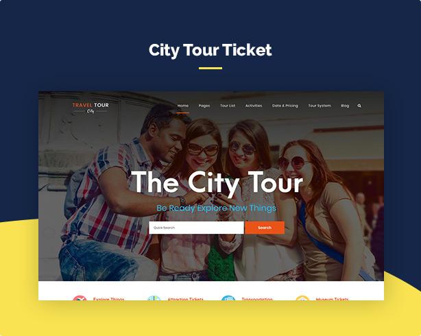 Travel Tour Booking WordPress - 10