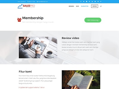 jualan membership small