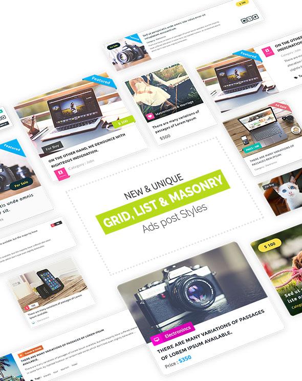 Classiera – Classified Ads WordPress Theme 20