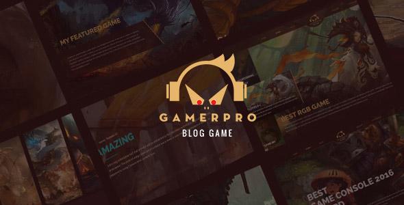 gamepro wordpress theme