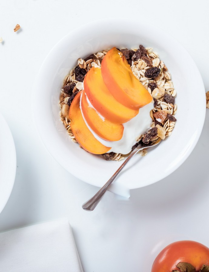 Peaches and Granola