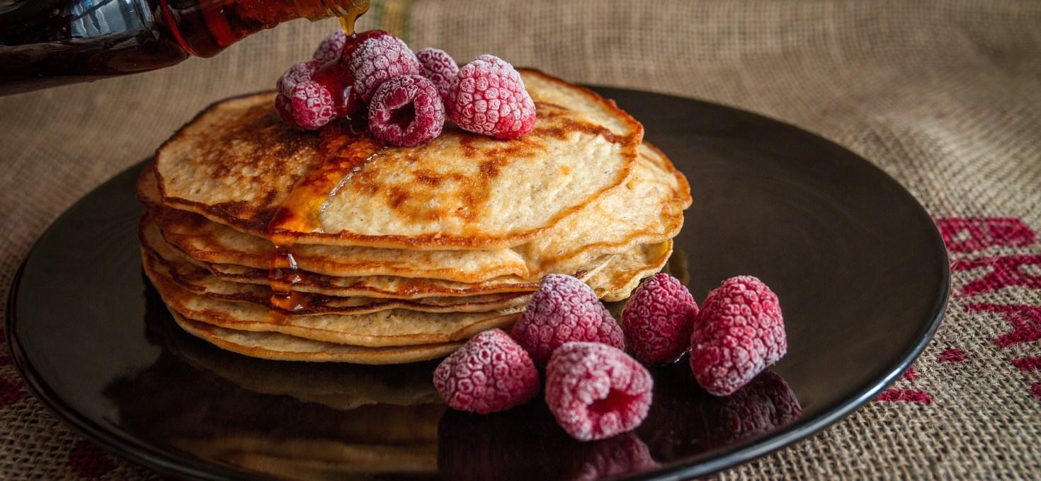 Pancakes and Rasberries