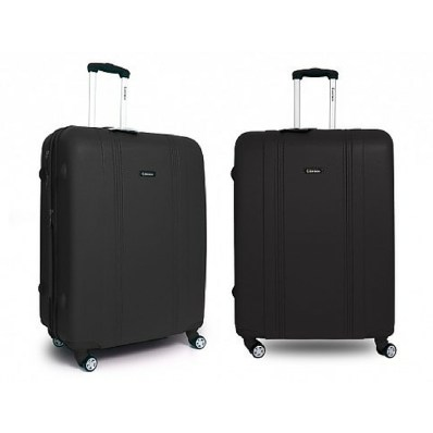 black luggage set gift